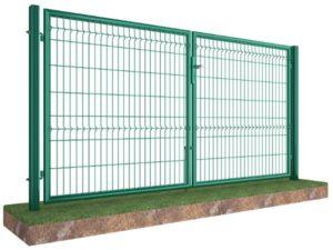 Секционная сетка 3D забор сетка ее цена, Киев распашные ворота дешево