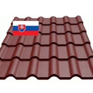 Металлочерепица Словакия Ретро цена в Киеве Украине, Гарантия доставкой по украине