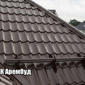 Металлочерепица Гнедин производство в Киеве цена завода Арембуд