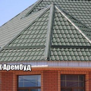 Фото Металлочерепица Гостомель производство в Киеве цена завода Арембуд