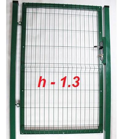 Фото Калитка из сетки на забор престиж высота 1,3м Арембуд