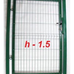 Фото Калитка из сетки на забор престиж высота 1,5м Арембуд