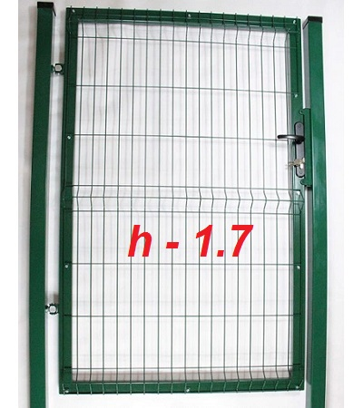 Фото Калитка из сетки на забор престиж высота 1,7м Арембуд