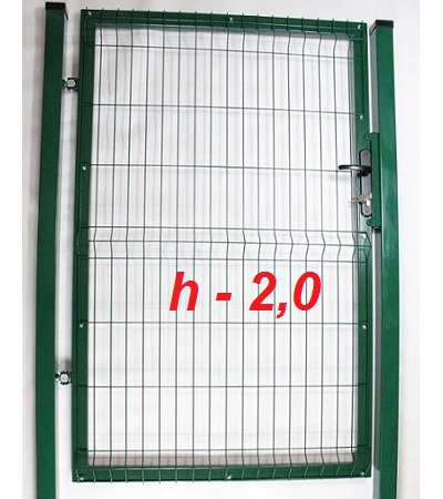 Фото Калитка из сетки на забор престиж высота 2,0м Арембуд