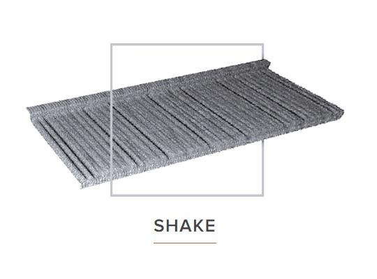 Квинтайл класик Shake композитная металлочерепица Арембуд Кровля для всех
